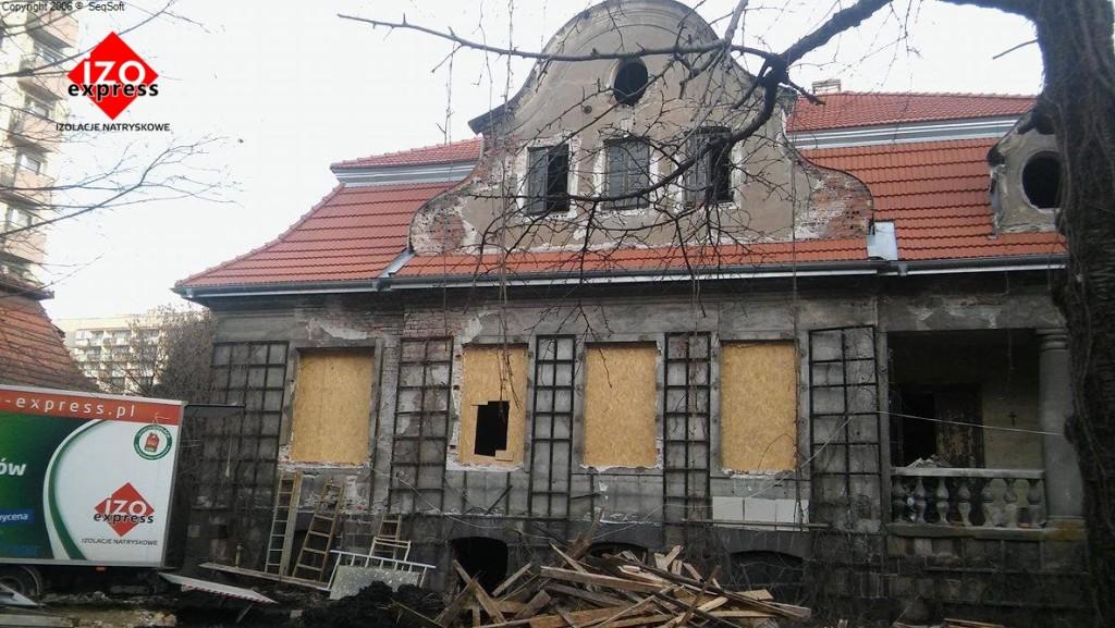 Kraków – pianka natryskowa