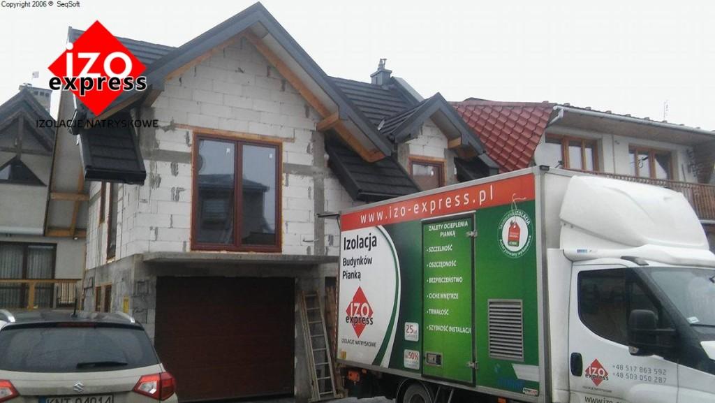 Nowy Targ – izolacja dachu
