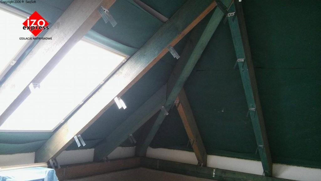 Wieliczka – izolacja natryskowa