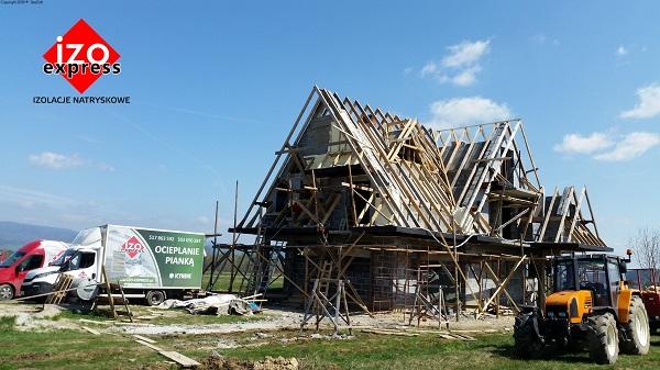 Białka Tatrzańska – izolacja dachu