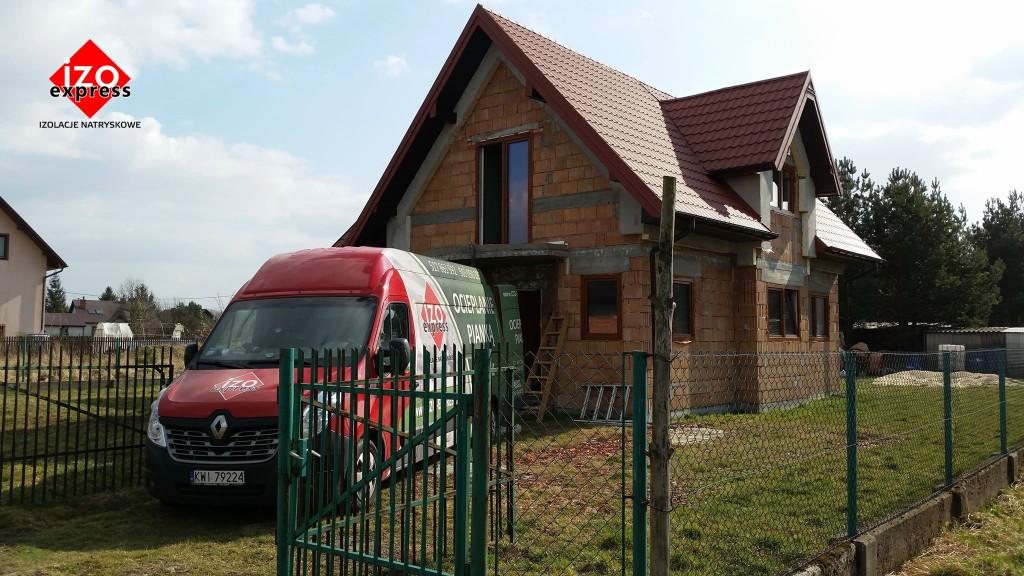 Stanisławice – izolacja dachu pianką